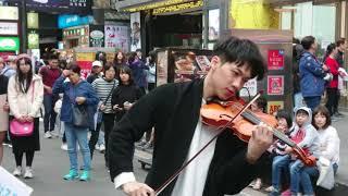 林子安 Violin Artist〖Michael Jackson - Smooth Criminal〗小提琴演奏 西門 uniqlo