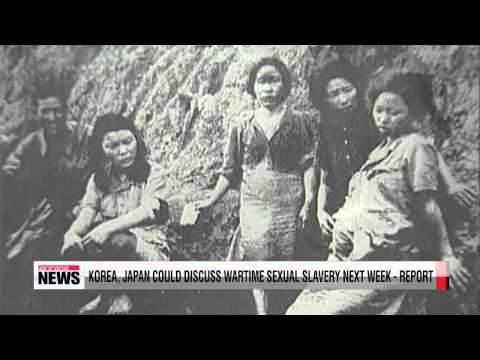 Korea, Japan could discuss wartime sexual slavery next week   report