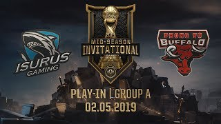 ISG vs PVB [MSI 2019][02.05.2019][Group A][Play-in]