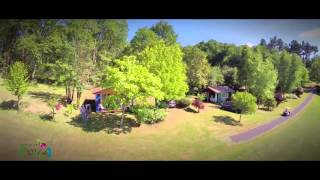 Droneart.tv - camping Les Valades - Périgord