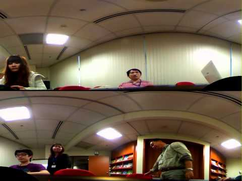 Video Conference 180 degree