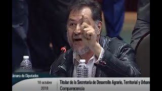 NOROÑA LLAMA CÍNICA A ROSARIO ROBLES Y CASI AGARRA A RIATAZOS A UN DIPUTADO DEL PRI