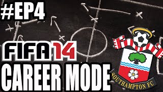 "FIFA 14 - Southampton Career Mode #EP4 ""TWO RED CARDS!?"""