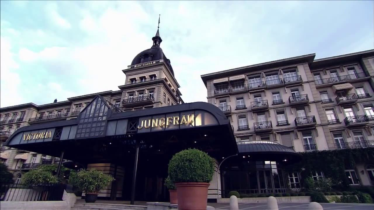 Switzerland Interlaken Victoria Jungfrau Grand Hotel Spa