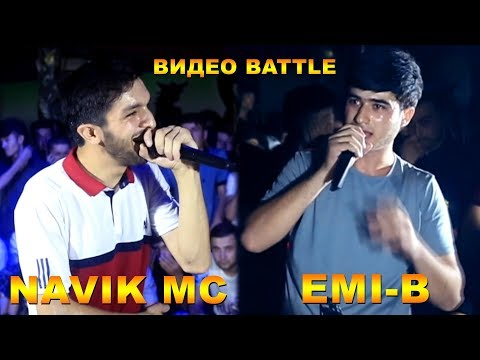 Видео Battle, Navik MC vs. Emi-B (RAP.TJ)
