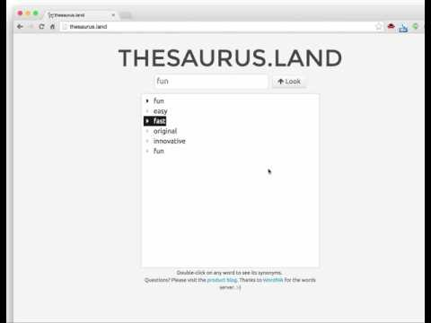 thesaurus.land