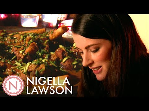 Nigella Lawson's Lamb Shanks And Creme Brûlée | Nigella Bites