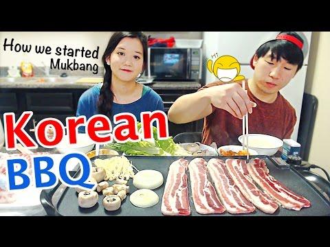 Korean BBQ Grill at home | Mukbang