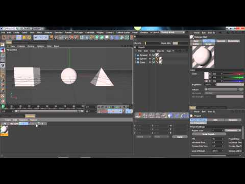 CINEMA 4D - Layers Manager (Materials)  - Tutorial