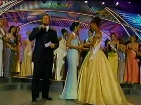 miss universe 1999 crowning moment youtube