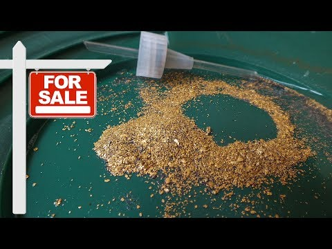 Gold Concentrates for Sale - Georgia Raw Pay Dirt