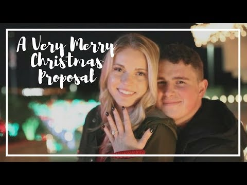 A Very Merry Christmas Proposal