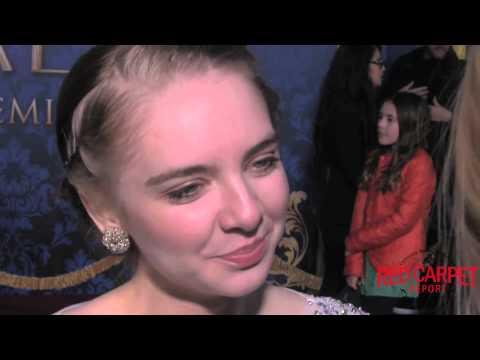 Darcy Rose Byrnes SofiatheFirst at the World Premiere of Disney's Cinderella ElCapitan Cinderella