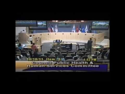 Austin Health & Human Services Rep Lies About Job Title 10-18-2011
