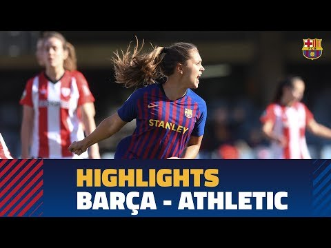 [HIGHLIGHTS] FUTBOL FEM (Liga): FC Barcelona – Athletic Club (2-1)