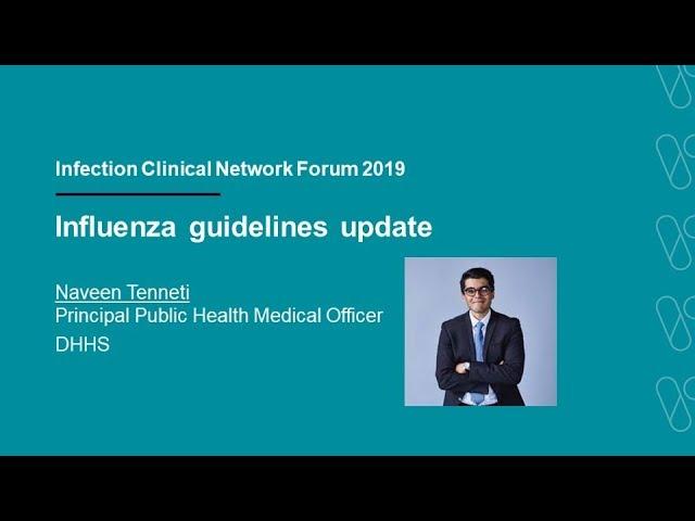 Influenza guidelines update