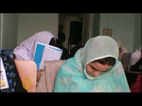 Inside Kandahar's secret school for girls