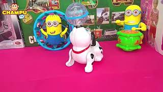 Dancing Dog Toy with 3D Lights and Music For Kids