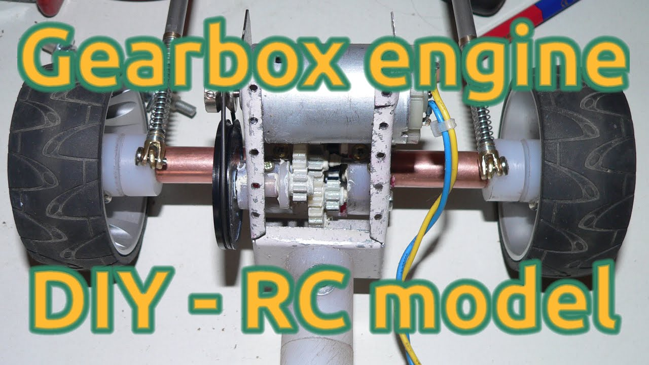 How to make a reduction gear 45