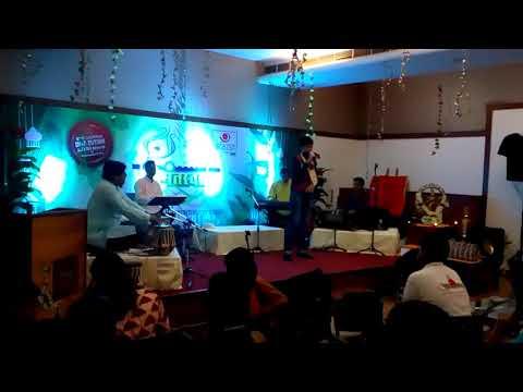 yeshil yeshil Rani by Vineet Naik @ Rudreshwar Panaji Singing Competition 2017