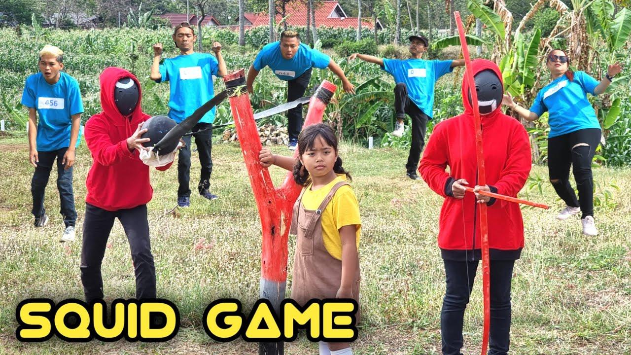 squid game parody   komedi somplak keluarga marsya