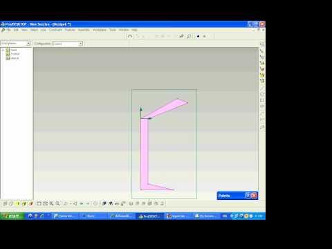 การทำแก้วน้ำจากโปรแกรม Pro/Desktop