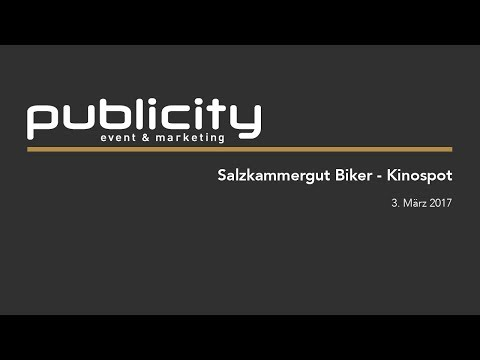 Kinospot Salzkammergut Biker
