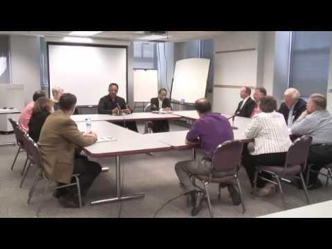 Jesse Jackson visits Rockford Register Star Editorial Board part 1 of 7