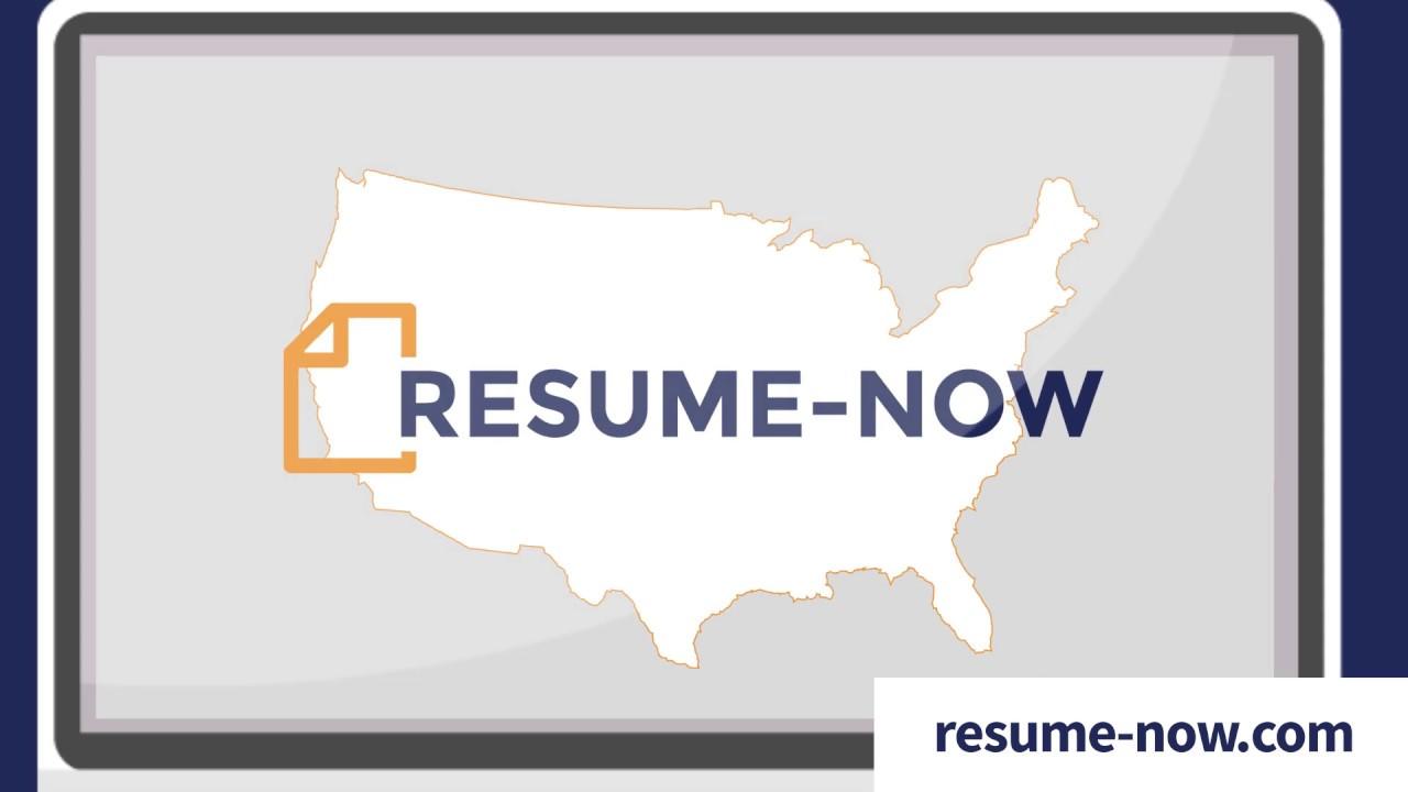 Resume Now America S Top Resume Builder