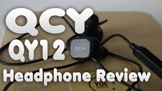 qCY QY12 Bluetooth Headphones Review  Electro Reviews