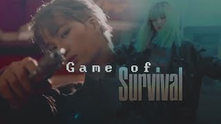 kpop multifandom||Game of Survival [NERVE AU]