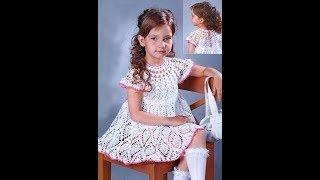 Детские Платья Крючком на 3 года - 2019 / Children's Dresses Crochet for 3 years / Kinderkleider