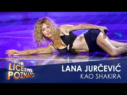 Lana Jurčević kao Shakira feat. Alejandro: Tortura