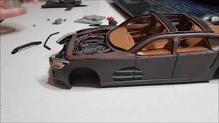 Постройка Модели Автомобиля Из Пластилина 11. Внешняя Обшивка (3 Часть)