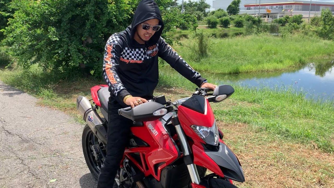 วิบากค่ายแดง Ducati Hypermotard 821