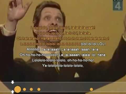 Эдуард Хиль - Трололо (минус) слушать онлайн трек
