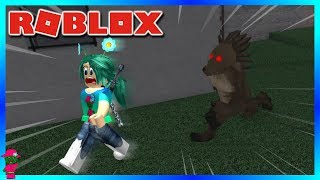 THERE'S A WEREWOLF IN ROBLOX!!! (Roblox A Wolf or Other)