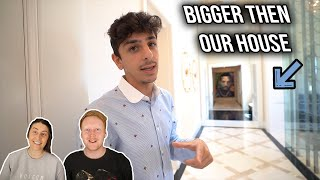 Faze Rug's $10,000,000 Mansion Tour Reaction - His Hallway Is Bigger Then Our House!