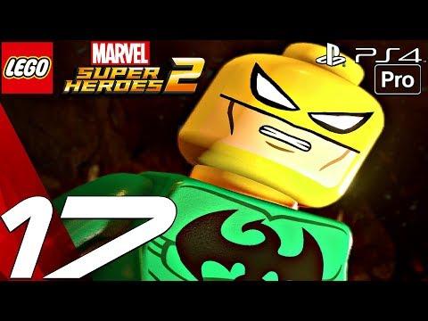LEGO Marvel Super Heroes 2 - Gameplay Walkthrough PART 17 - Iron Fist Vs. Davos (PS4 PRO)