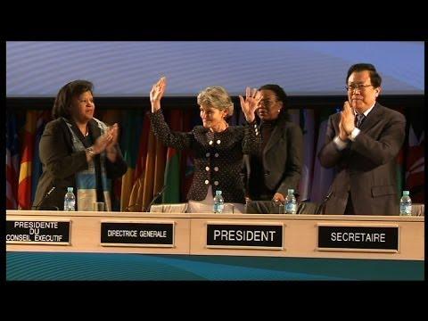 Investiture Ceremony of Irina Bokova, UNESCO Director-General