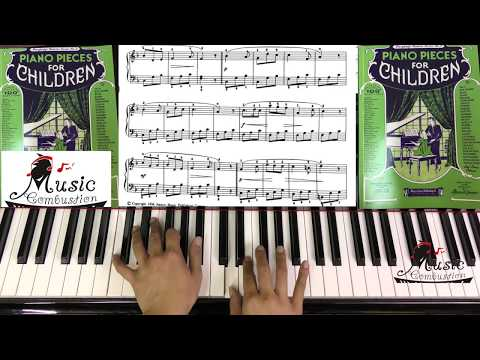 Piano Pieces For Children Page 8 The Harebell