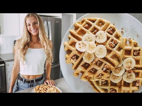 HOMEMADE WAFFLES RECIPE (Easy, Vegan & High Protein)