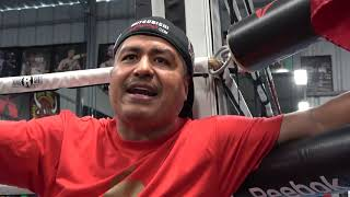 "(WOW) Robert Garcia: The More I Watch Spence The More Chance I Give Mikey Garcia"" EsNews Boxing"