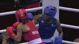Boxing Women's Fly (51kg) Semifinals - Great Britain V India Full Replay - London 2012 Olympics