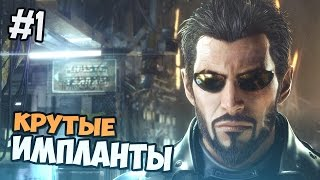 Deus Ex: Mankind Divided прохождение на русском - ИМПЛАНТЫ РУЛЯТ - Часть 1