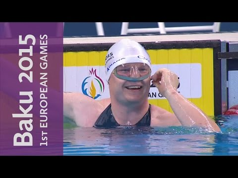 Kabanov sets new World Record in the Men's 50m | Underwater Swimming | Baku 2015