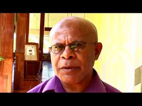 Interview of Mr. Aru, DG Agriculture and Fisheries, Vanuatu, TV Nius