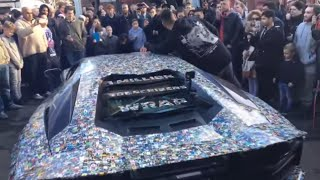🔴  LIVE  🔴 Million Subs Car Wrap Reveal Event at Yiannimize