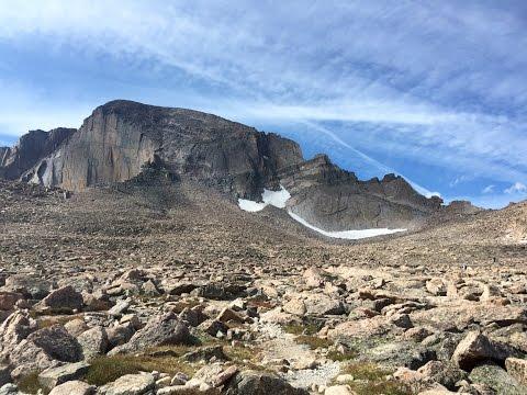 Longs Peak - Rocky Mountain National Park - Colorado 14er Dayhike