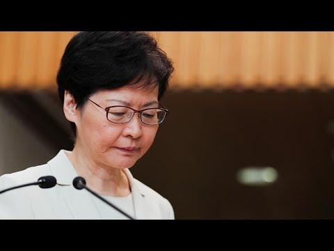 رئيسة السلطة التنفيذية في هونغ كونغ تدعو المتظاهرين إلى الحوار …  - 14:56-2019 / 9 / 5